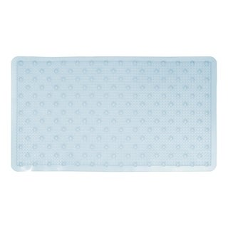 Richards Homewares Rings Non Slip Bath and Shower Mat - Anti Bacterial Bubbled Texture For Extra Comfort & Security -