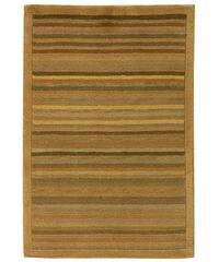 Safavieh Hand-knotted Tibetan Striped Apricot/ Sage Wool Rug - 3' x 5'