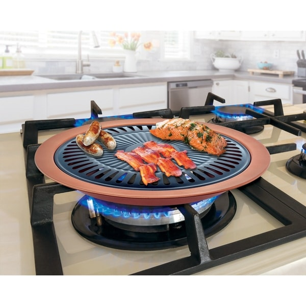 Non Stick Copper Stove Top Grill - Free Shipping On Orders Over ...