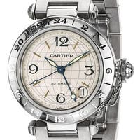Certified Pre-owned Cartier Mens Pasha C Automatic GMT Watch