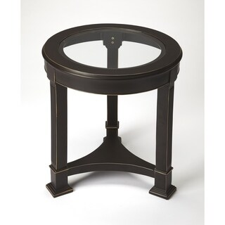 Butler Corinth Black Metal End Table