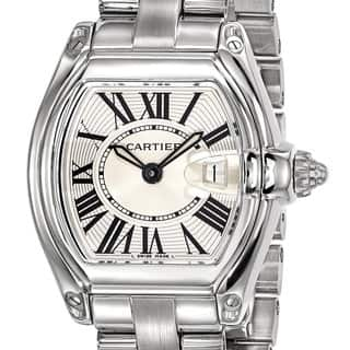 Certified Pre-owned Cartier Ladies Roadster Watch|https://ak1.ostkcdn.com/images/products/18024358/P24192452.jpg?impolicy=medium