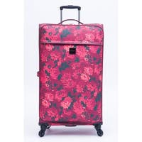 Isaac Mizrahi Irwin 2 26-inch 4-Wheel Spinner Suitcase