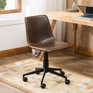 Cesena Faux Leather 360 Swivel Air Lift Office Chair