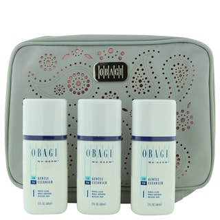 Obagi 2-ounce Gentle Cleanser Set with Makeup Bag