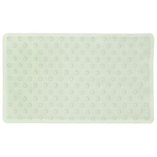 Richards Homewares Blue Lattice Bath/Shower Mat -Natural-Themed, Ultra-Durable, Non-Slip Mildew-Resistant Bath Rug