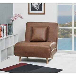 Vista Nutmeg Convertible Chair Bed
