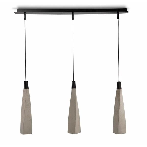 "Tosha Triple 35"" Kitchen Pendant Lamp"