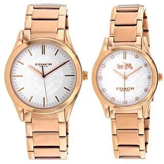 Coach Men/Women's 14000050 Dfs Pair Watches