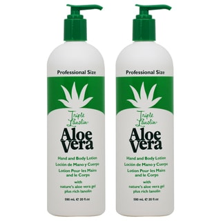 Triple Lanolin Aloe Vera 20-ounce Hand and Body Lotion