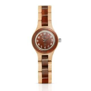 Bewell Wooden Watch Women W123A Wood Watch Small Dial Simple Wristwatch for Ladies|https://ak1.ostkcdn.com/images/products/18024671/P24192751.jpg?impolicy=medium