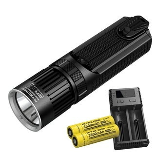 NITECORE SRT9 2150 Lumen SmartRing Red/Green/Blue/UV SmartRing Tactical Flashlight