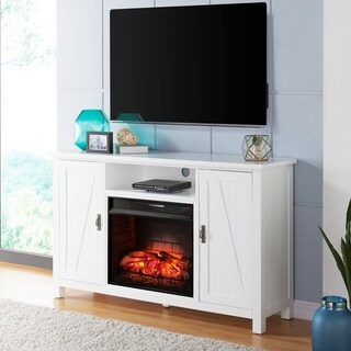 Harper Blvd Colwell Farmhouse Style Infrared Electric Fireplace TV Stand