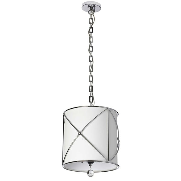 4-Light Polished Chrome Chandelier
