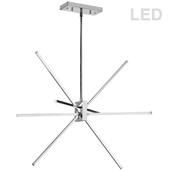 LED Pendant, Polished Chrome Finish - Polished chrome
