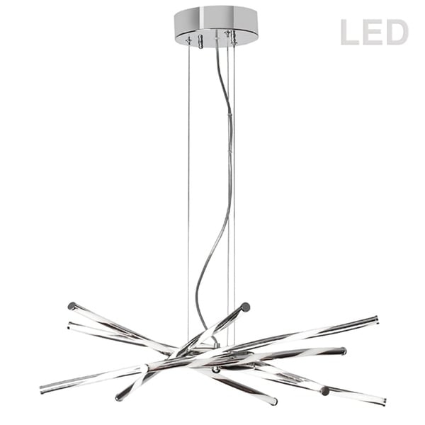 6LT LED Pendant, PC - Polished chrome