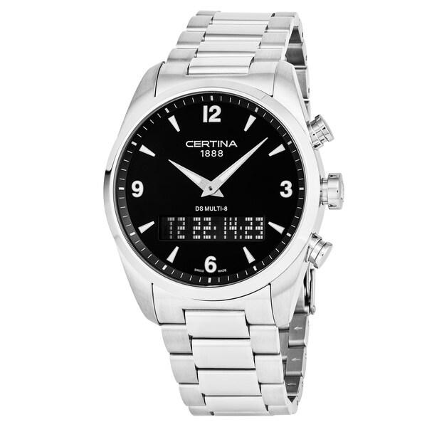 Shop Certina Men S C020 419 11 057 00 Ds Multi 8 Black