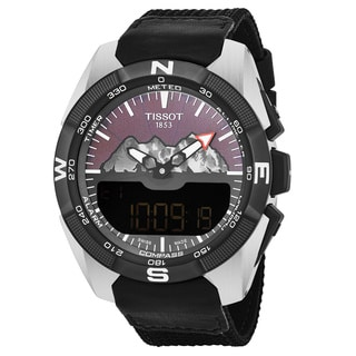 Tissot Men's T0914204605110 T Touch Titanium Swiss Quartz Watch