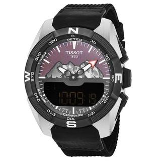 Tissot Men's T0914204605110 T Touch Titanium Swiss Quartz Watch