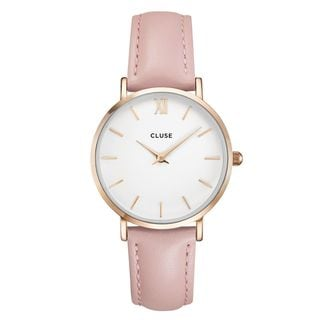 Cluse MINUITE Women's CL30001 Pink and Rose Gold Dress Watch