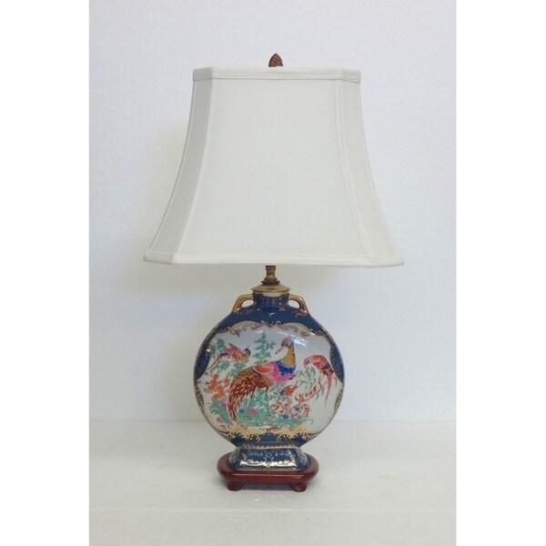Magical Phoenix Porcelain Table Lamp