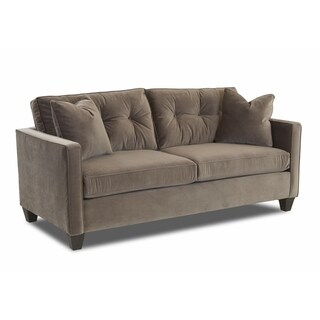 Klaussner Furniture Brower Microfiber Sofa