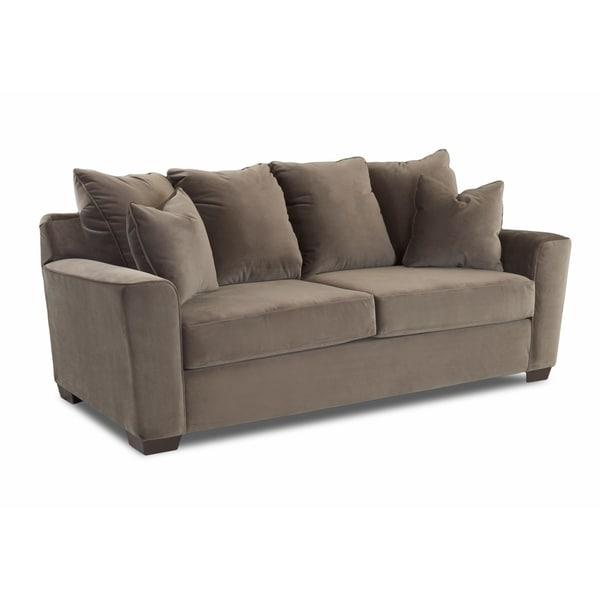 Genial Klaussner Furniture Heather Microfiber Sofa
