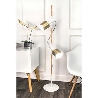 Watch Hill 57'' Anna Brass Metal Shade Floor Lamp