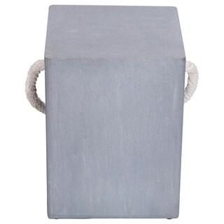 Renwil Pallas Grey Cement Stool