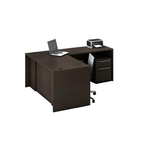 Reception Center Furniture 3pc Complete Group Model O4M1E6G0A Contemporary Espresso color. Refresh Your Reception Area.