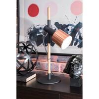 Watch Hill 24'' Ellie Metal Shade Black Table Lamp