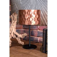 Watch Hill 17'' Claire Metal Shade Black Table Lamp