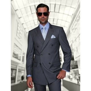 Link to Statement TZD-100 Charcoal Double Breasted Suit Similar Items in Suits & Suit Separates