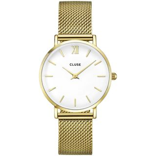 Cluse MINUIT Women's CL30010 Gold-Tone Stainless Steel Watch