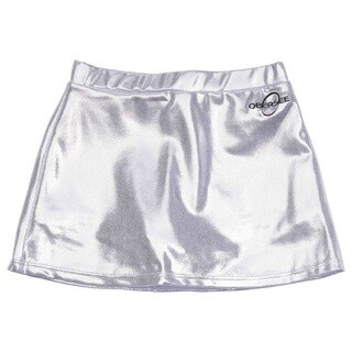 Obersee Cheer and Dance Skirt - Silver