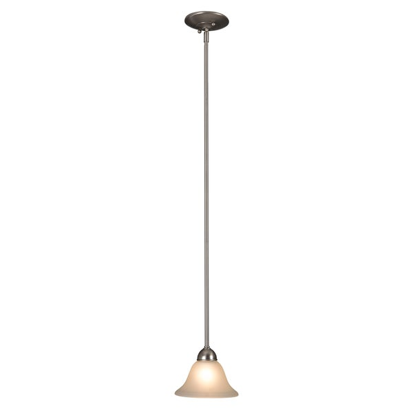 osemite Home Décor Vernal Falls Collection One Light Mini Pendant - Silver