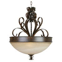 Yosemite Home Décor Mckensi Collection Three Light Pendant