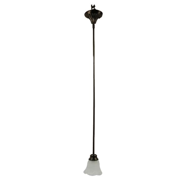 Yosemite Home Décor Mahogany Collection One Light Mini Pendant