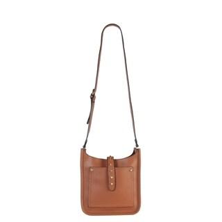 Diophy PU Leather Front Pocket Medium Cross Body Handbag