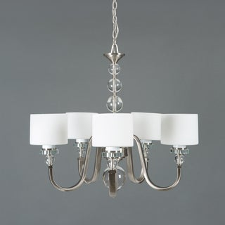 Yosemite Home Décor Mitchell Peak Collection Five Light Chandelier