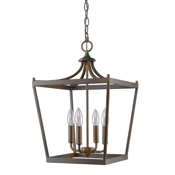 Acclaim Lighting Kennedy Indoor 4-Light Pendant In Oil Rubbed Bronze