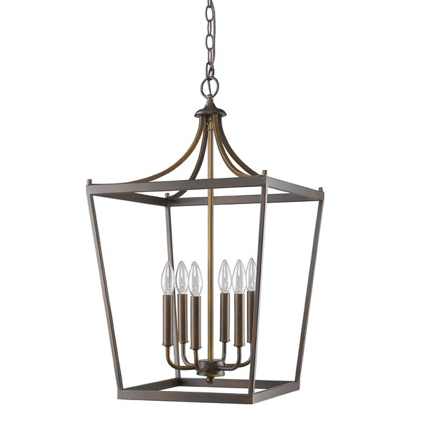 Acclaim Lighting Kennedy Indoor 6-Light Pendant In Oil Rubbed Bronze
