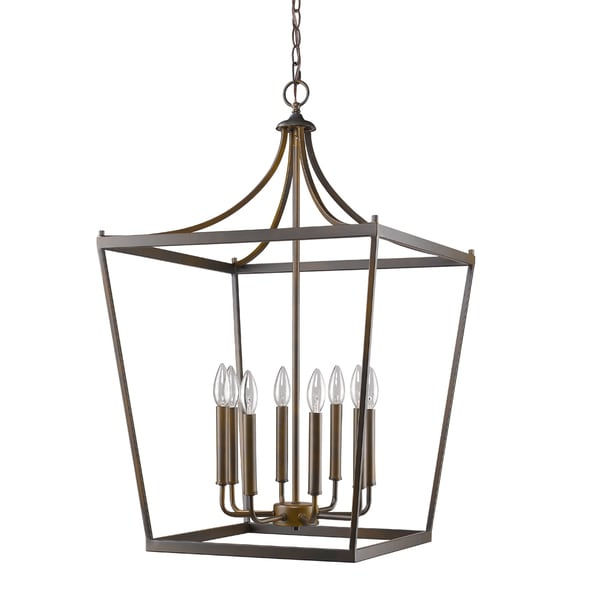 Acclaim Lighting Kennedy Indoor 8-Light Pendant Oil Rubbed Bronze
