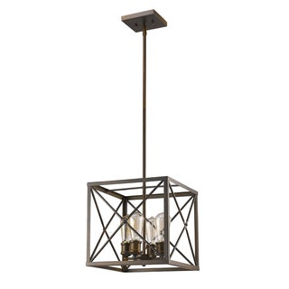 Acclaim Lighting Brooklyn Indoor 4-Light Pendant In Oil Rubbed Bronze