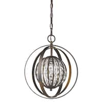 Acclaim Lighting Olivia Indoor 1-Light Pendant With Crystal In Oil Rubbed Bronze