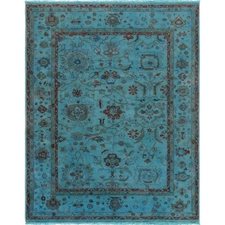 "Pasargad Overdye Colletion Lamb's Wool Area Rug (8' 3"" X 10' 0"")"