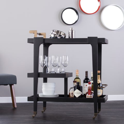 Holly & Martin Zhori Midcentury Modern Bar Cart