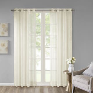 Madison Park Ethel Embroidered Sheer Window Curtain Panel|https://ak1.ostkcdn.com/images/products/18026641/P24194431.jpg?impolicy=medium