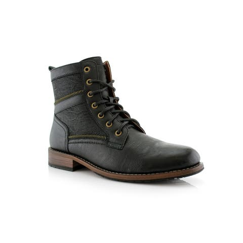Polar Fox Roy MPX808579 Mens Combat Boots For Work or Casual Wear