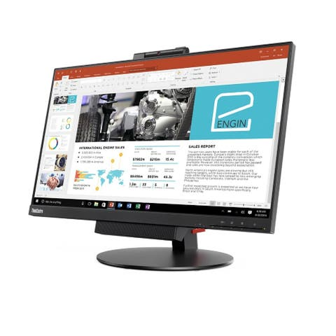 "Lenovo ThinkCentre Tiny-In-One 24Gen3 23.8"" Full HD LED LCD Monitor - 16:9 - Black"